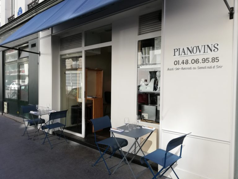 Pianovins Restaurant à Paris 11ème